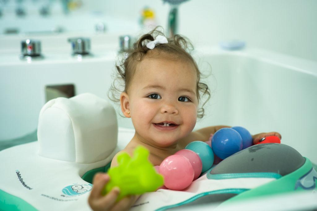 Fun float bij De Baby Spa