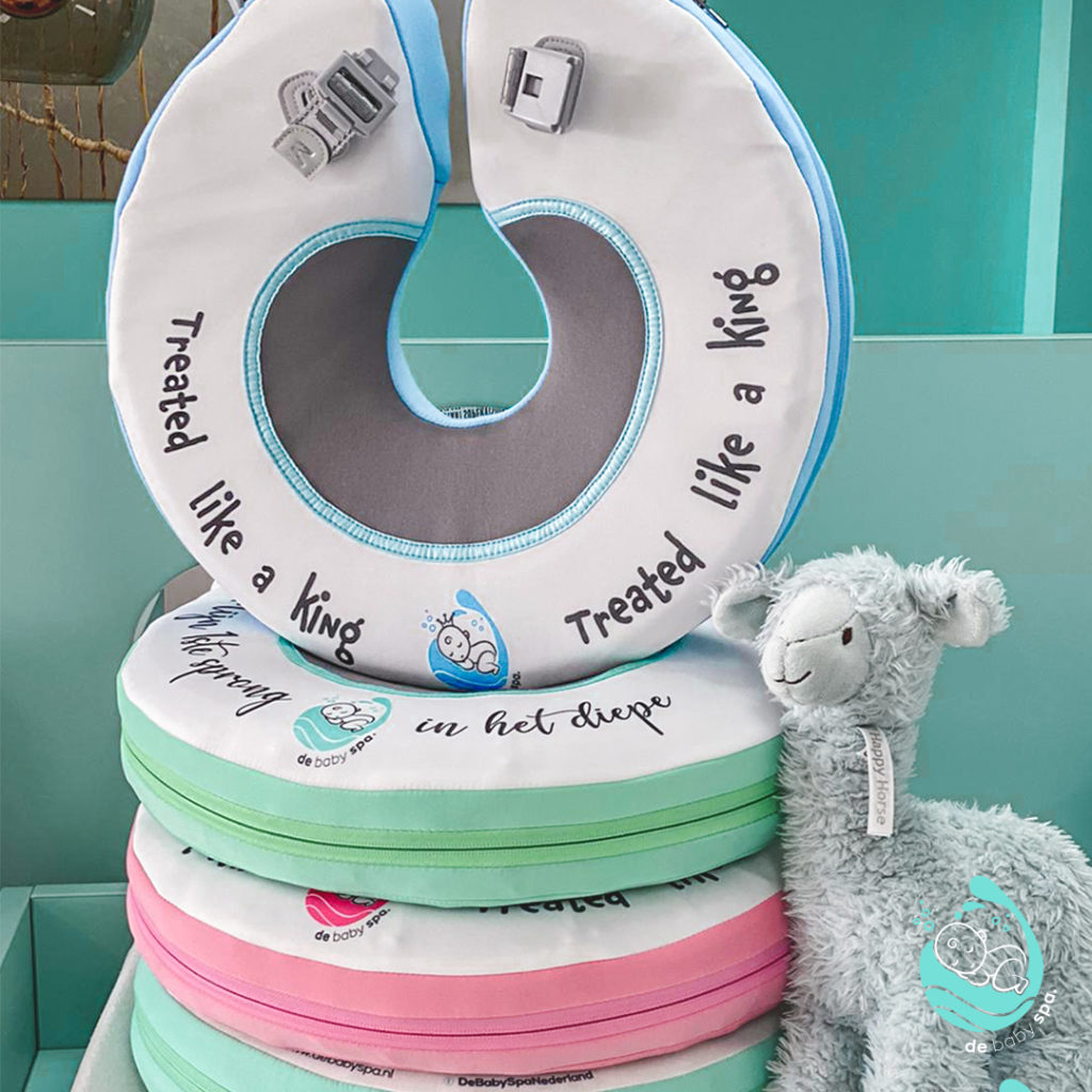 Float banden bij De Baby Spa